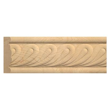 Moldings & Trim: Unfinished decorative moldings and trim