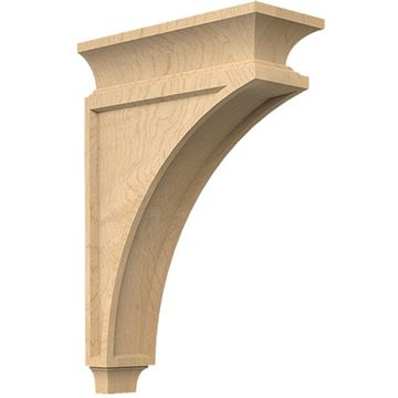 Designs of Distinction Mission 13 Inch Bar Bracket Corbel