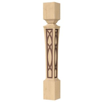 Designs of Distinction Nouveau 5 1/2 Inch Bronze Abbey Island Leg