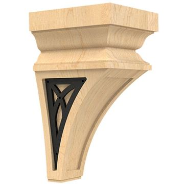Designs of Distinction Nouveau Small Corbel with Iron Abbey Insert