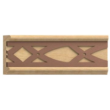 Designs of Distinction Panel Molding with Bronze Abbey Insert