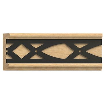 Designs of Distinction Panel Molding with Iron Abbey Insert