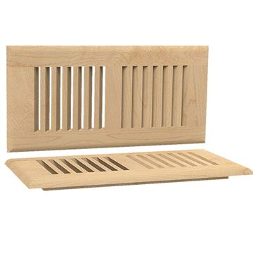 Designs of Distinction Self Rimming 4 Inch x 10 Inch Floor Air Vent