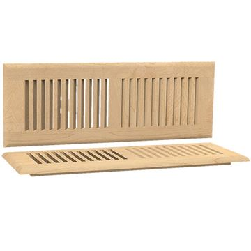 Designs of Distinction Self Rimming 4 Inch x 14 Inch Floor Air Vent