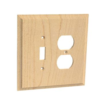 Designs of Distinction Single Duplex & Toggle Switchplate