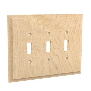 Designs of Distinction Triple Toggle Switchplate