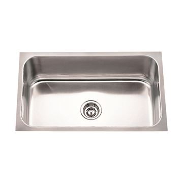 Hardware Resources 18 Gauge 30 Inch Rectangle Stainless Utility Sink