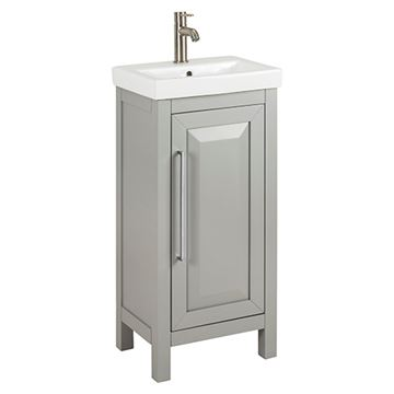Jeffrey Alexander Cade Contempo 18 Inch Grey Single Vanity