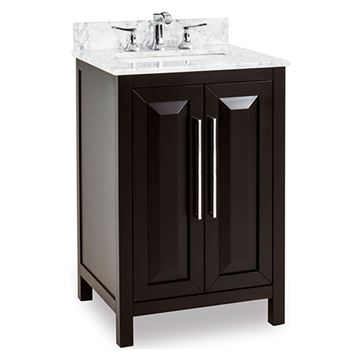 Jeffrey Alexander Cade Contempo 24 Inch Black Single Vanity