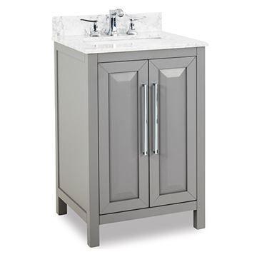 Jeffrey Alexander Cade Contempo 24 Inch Grey Single Vanity