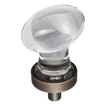 Jeffrey Alexander Harlow Small Glass Egg Knob