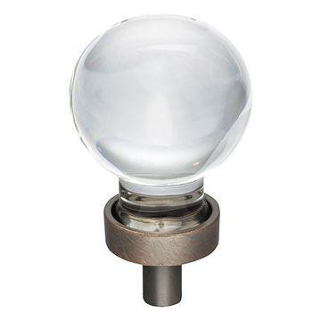 Jeffrey Alexander Harlow Small Glass Sphere Knob