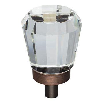 Jeffrey Alexander Harlow Small Glass Tapered Knob