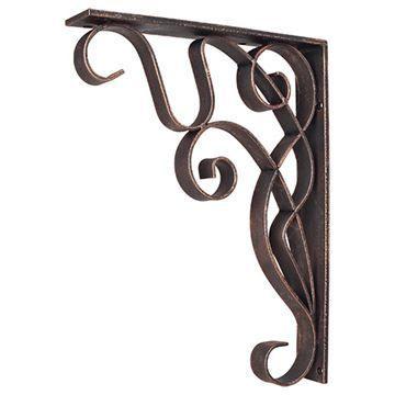 Legacy Heritage Art Nouveau Shelf Bracket