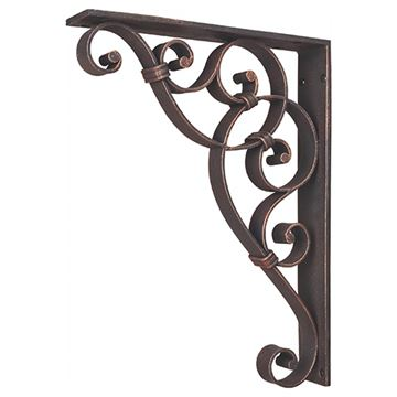 Legacy Heritage Scroll Shelf Bracket