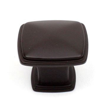 Century Hardware Builders Choice 1 1/4 Inch Square Knob