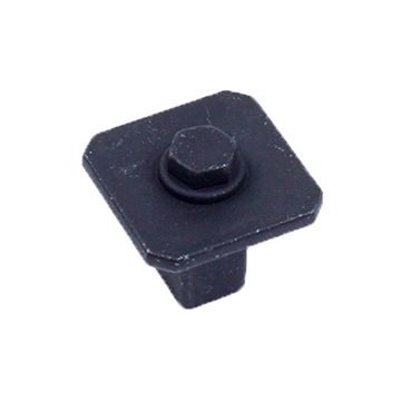 Century Hardware Raw Authentic Square Knob
