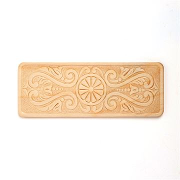 Restorers 7 1/8 Rectangular Embossed Birch Applique
