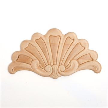 Restorers Shell Embossed Birch Applique