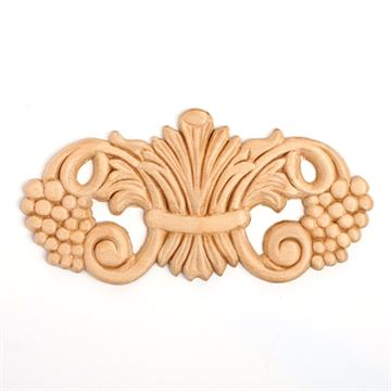 Restorers 6 3/4 Grape Embossed Birch Applique