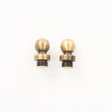 Brass Accents Ball Finials for Brass Accents Decorative Hinges - Pair