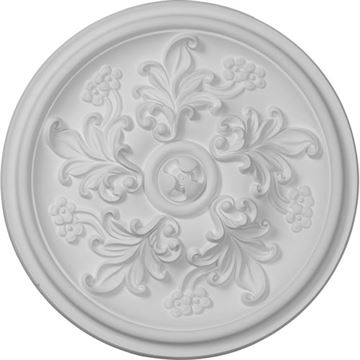 Restorers Architectural 14 Inch Katheryn Prefinished Ceiling Medallion