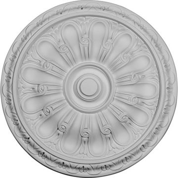 Restorers Architectural 15 3/4 Kirke Prefinished Ceiling Medallion
