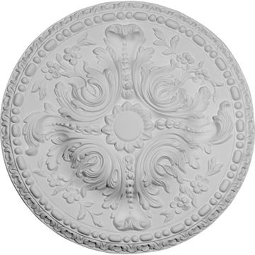Restorers Architectural 19 Inch Amelia Prefinished Ceiling Medallion