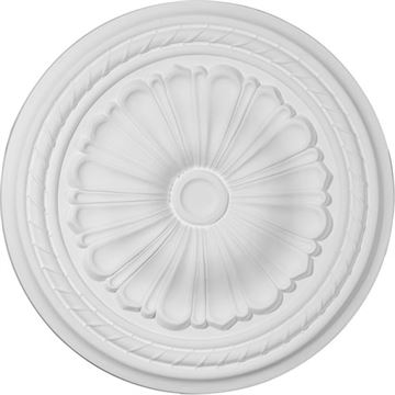Restorers Architectural 20 Inch Alexa Prefinished Ceiling Medallion