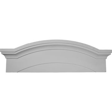 Restorers Architectural 45 1/2 Emery Urethane Pediment