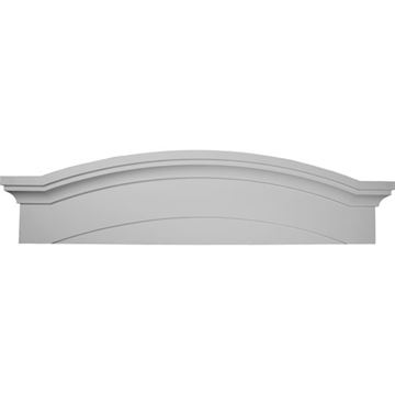 Restorers Architectural 57 1/2 Emery Urethane Pediment