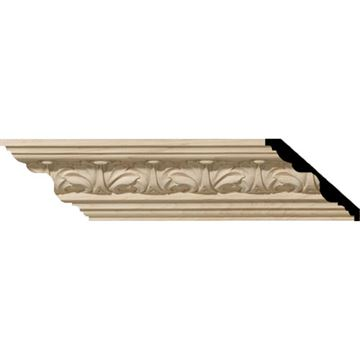 Restorers Architectural Acanthus Leaf 5 Carved Crown Molding