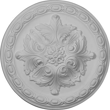 Restorers Architectural Acanthus Prefinished Ceiling Medallion