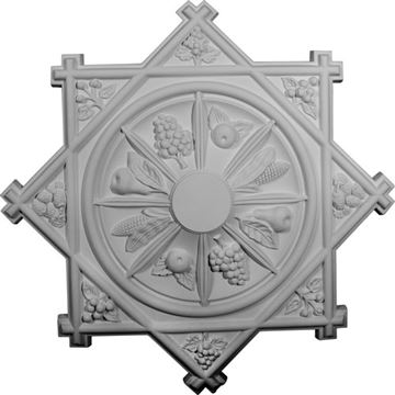 Restorers Architectural Antilles Prefinished Ceiling Medallion