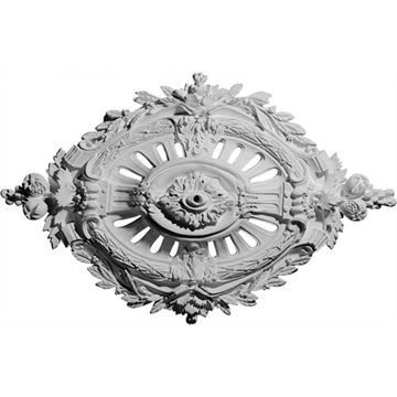 Restorers Architectural Antonio Prefinished Ceiling Medallion