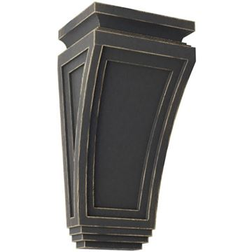 Restorers Architectural Arts & Crafts 12 x 6 Inch Prefinished Corbel
