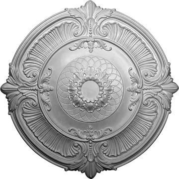 Restorers Architectural Attica 39 1/2 Prefinished Ceiling Medallion