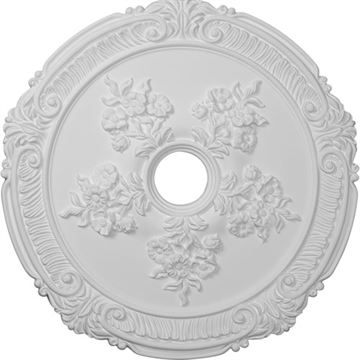 Restorers Architectural Attica Rose Prefinished Ceiling Medallion