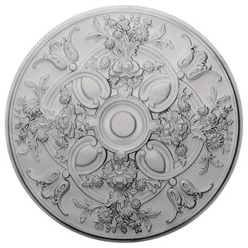 Restorers Architectural Baile 31 1/4 Prefinished Ceiling Medallion