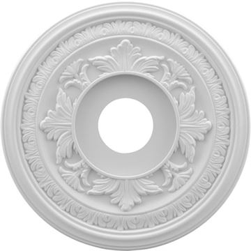 Restorers Architectural Baltimore 13 PVC Ceiling Medallion