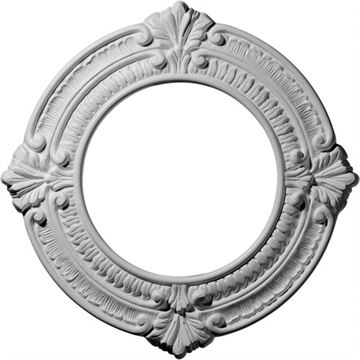 Restorers Architectural Benson 11 1/8 Prefinished Ceiling Medallion