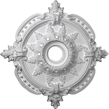 Restorers Architectural Benson 28 3/8 Prefinished Ceiling Medallion