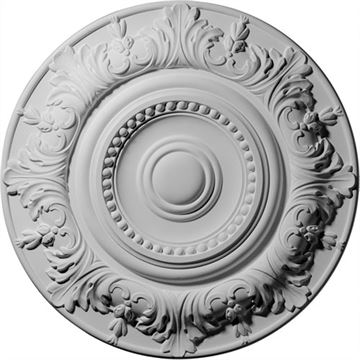 Restorers Architectural Biddix Prefinished Ceiling Medallion