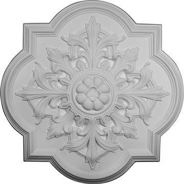 Restorers Architectural Bonetti 31 1/4 Prefinished Ceiling Medallion