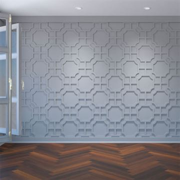 Restorers Architectural Bradley PVC Decorative Fretwork Wall Panel