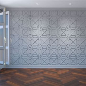 Restorers Architectural Buxton PVC Decorative Fretwork Wall Panel