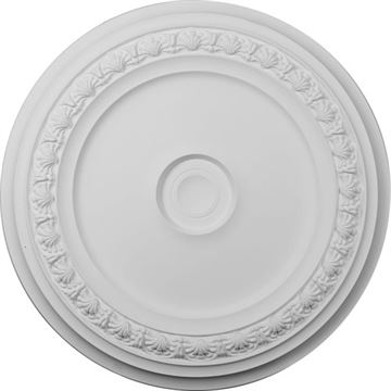 Restorers Architectural Carlsbad 31 1/8 Prefinished Ceiling Medallion