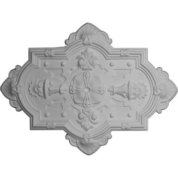 Restorers Architectural Cathedral Prefinished Ceiling Medallion