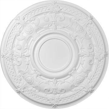 Restorers Architectural Dauphine Prefinished Ceiling Medallion