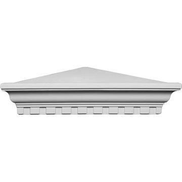 Restorers Architectural Dentil Corner Urethane Shelf